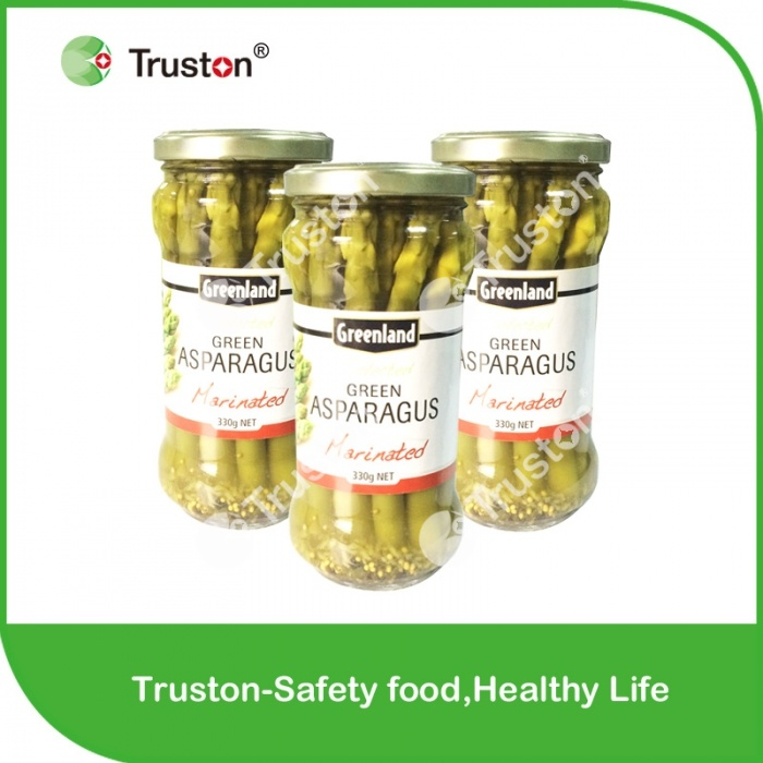 Canned Marinated Green Asparagus
