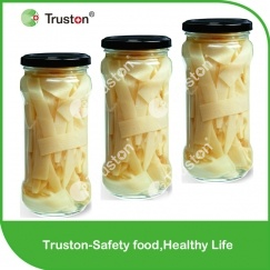 Canned Bamboo shoots in jar for sale